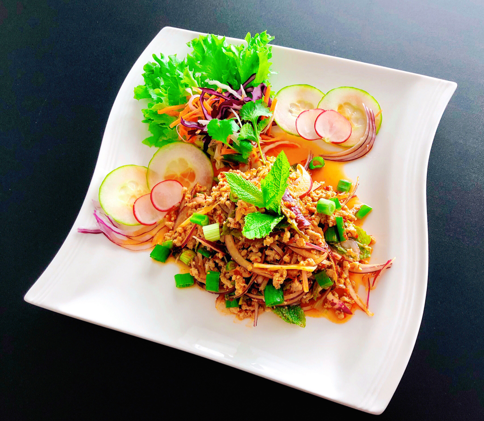 Thai Pork Mint Salad at Thai Passion Thanet